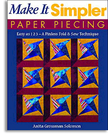Make it Simpler Paper Piecing Cover